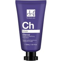 Dr Botanicals  Charcoal Superfood Mattifying Face Mask 30mls  men's  in multicolour