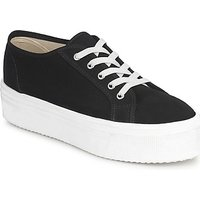 Yurban  SUPERTELA  womens Shoes (Trainers) in Black