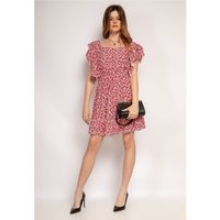Fashion brands  573-ROUGE  women's Dress in Red