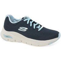 Skechers  Arch Fit Womens Sports Trainers  women's Shoes (Trainers) in Blue