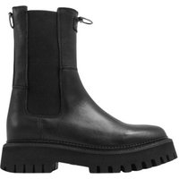 Bronx-Bottes-femme-Groovy-Chelsea-womens-Low-Ankle-Boots-in-Black