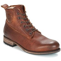 Blackstone  MID LACE UP BOOT FUR  mens Mid Boots in Brown