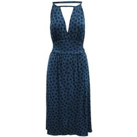 Marc-by-Marc-Jacobs-Navy-Blue-womens-Long-Dress-in-Blue