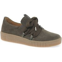 Gabor  Waltz Womens Casual Trainers  women's Shoes (Trainers) in Green