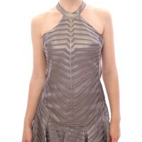 Arzu Kaprol  Silver Leather Str  womens Blouse in multicolour