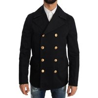 D G  Trench Blue Co  mens Coat in multicolour