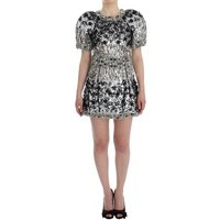 D G  Crystal Silver  womens Dress in multicolour