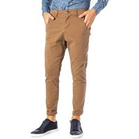 Over-D  Mens Trousers In Beige  mens Trousers in multicolour