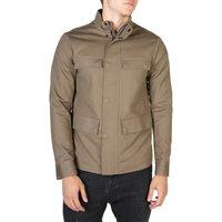 Armani  Mens Jackets  men's Leather jacket in Brown