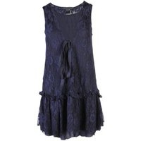 Marc-by-Marc-Jacobs-Navy-Lace-womens-Dress-in-multicolour