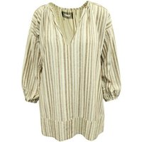 Reformation  Striped Linen Over  womens Dress in multicolour