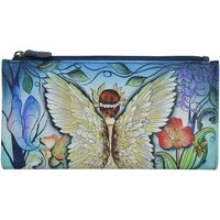 Anuschka  1171 Enchanted Garden - Hand Painted Leather  womens Purse wallet in Multicolour