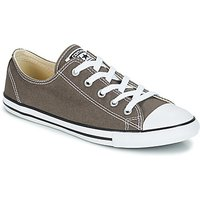 Converse All Star Dainty Canvas Ox Shoes (trainers) In Grey