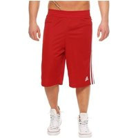 adidas  Young Commander  girlss Childrens Cropped trousers in Red