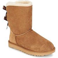 Ugg Bailey Bow Ii Mid Boots In Beige