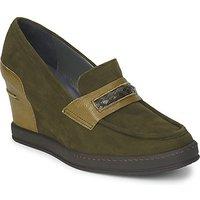 Stéphane Kelian  GARA  womens Loafers / Casual Shoes in Green