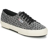 Superga  2750 FANTASY  women's Shoes (Trainers) in Black