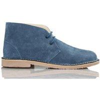 Arantxa  AR pisacacas safari leather boot  men's Shoes (High-top Trainers) in Blue