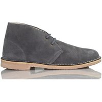 Arantxa  AR pisacacas safari leather boot  womens Shoes (High-top Trainers) in Grey