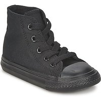 'Converse  All Star Hi  Girls's Children's Shoes (high-top Trainers) In Black. Sizes Available:2 Toddler,3 Toddler,4 Toddler,5 Toddler,6 Toddler,7 Toddler,8 Toddler,9 Toddler,10 Toddler