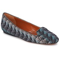 Missoni  WM004  womens Loafers / Casual Shoes in Blue