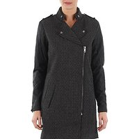 Yas  MIND WOOL BICKER JACKET  womens Coat in Grey