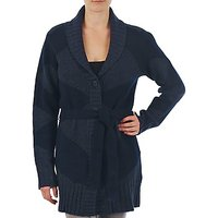 Gant  N.Y. DIAMOND SHAWL COLLAR CARDIGAN  womens Cardigans in blue