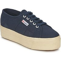 Superga  2790 LINEA UP AND  women's Shoes (Trainers) in Blue