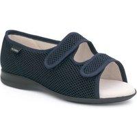 Calzamedi Open Orthopedic Sandal Slippers In Blue