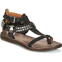 Airstep / A.s.98 Rame Sandals In Black