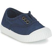 Victoria  INGLESA LONA TINTADA  boys's Children's Shoes (Trainers) in Blue