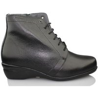 Dtorres  OTTAWA LACE BOOTS  womens Low Ankle Boots in Black