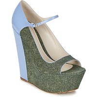 John Galliano  S54261  womens Court Shoes in Blue