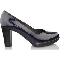 Kroc  patent leather shoe  womens Court Shoes in Blue