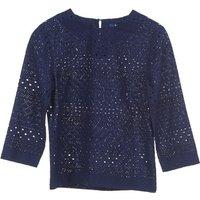 Gant  431951  womens Blouse in Blue