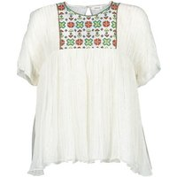 Manoush  POINT DE CROIX  womens Blouse in White