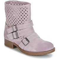 Casual Attitude  DISNELLE  women's Mid Boots in Pink