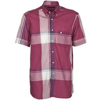 Pierre Cardin  538536226-860  men's Short sleeved Shirt in Purple