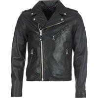 Schott  LEVOQ  men's Leather jacket in Black