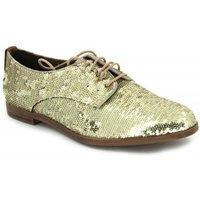 Elvio Zanon  B-0601-X  women's Casual Shoes in Gold