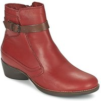 TBS  GENTLY  women's Low Ankle Boots in Red