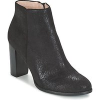 Mellow Yellow  ALESSANE  women's Low Ankle Boots in Black