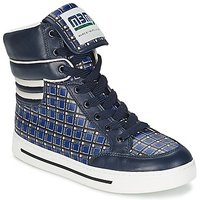 Marc by Marc Jacobs  CUTE KIDS MINI TOTO PLAID  womens Shoes (High-top Trainers) in Multicolour