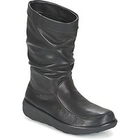 FitFlop-LOAF-SLOUCHY-KNEE-BOOT-LEATHER-womens-Mid-Boots-in-Black