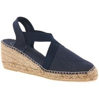 Toni Pons  Ter Womens Wedge Heeled Espadrilles  women's Espadrilles / Casual Shoes in Blue