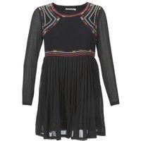 See U Soon  SANCIE  women's Dress in Black