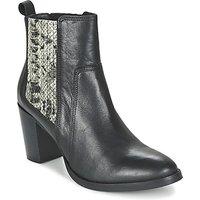 Betty London  FLARA  women's Low Ankle Boots in Black