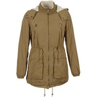 Only Anna Parka In Brown