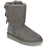 Ugg Bailey Bow Ii Mid Boots In Grey