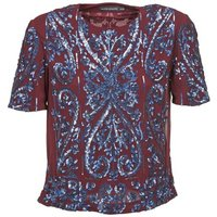 Antik Batik  NIAOULI  womens Blouse in Red